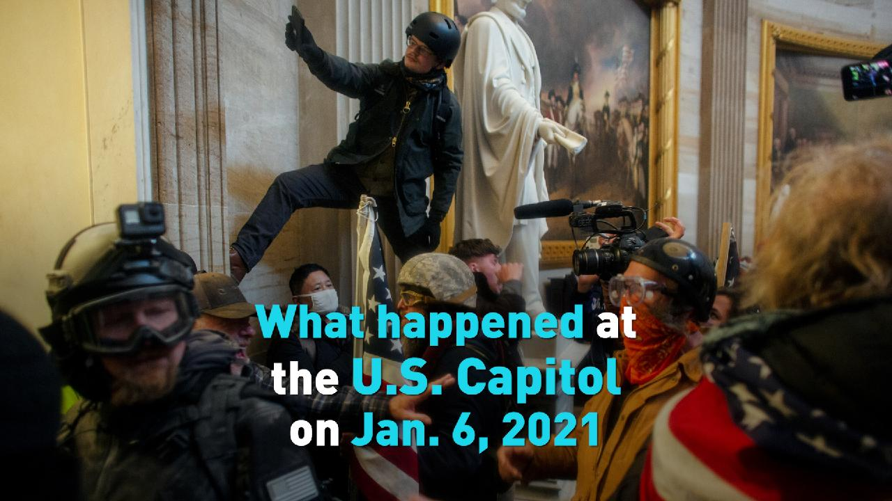 What Really Happened At The US Capitol